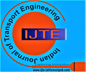 Indian Journal of Transport Engineering (IJTE)